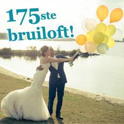175ste huwelijksfeest bij Brasserie Zuiderzoet